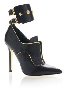 Versace pre-fall 2013 Studded Stiletto Shoes Black