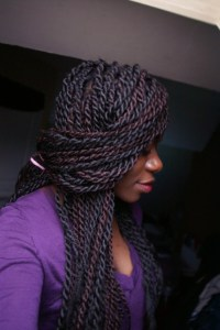 Senegalese twists style NaturalPride