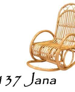 Jana Rattan Rocking Chair