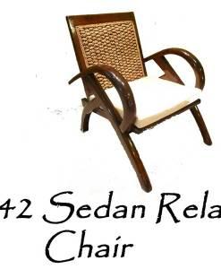 Sedan Wicker Relax Chair