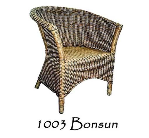 Bonsun Wicker Arm Chair