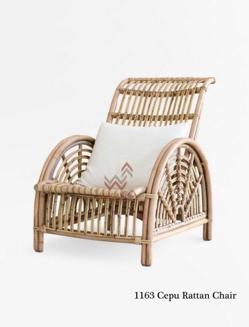 1163 Cepu Rattan Chair