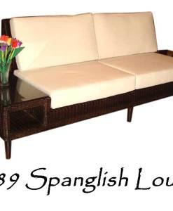 Spanglish rattan Lounge