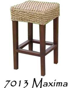 Maxima Wicker Bar stool