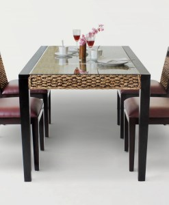 Bastian Wicker Dining Set