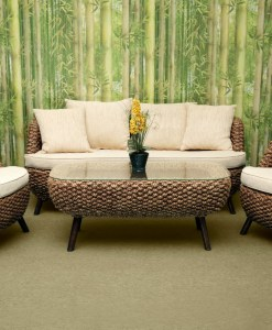 Kevin Wicker Living Set