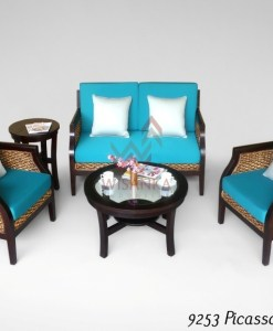 Picasso Wicker Living Set