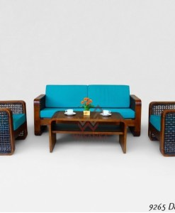 Daniella Rattan Living Set