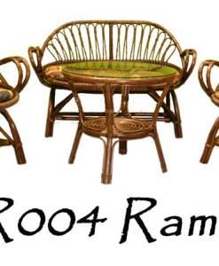 Ramona Rattan Living Set