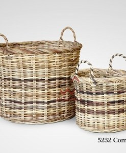 Commo Rattan Basket