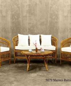 Maroco Rattan Living Set