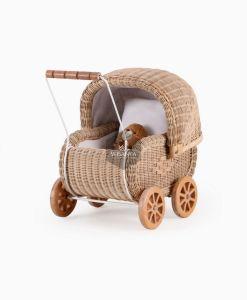 Jess Rattan Oyuncak Bebek Arabası