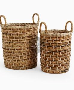 Versail Round Rattan Basket
