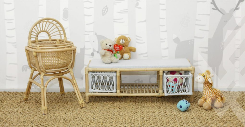 Baby Crib Collection From Natural Rattan Furniture