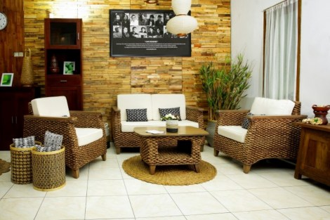 Furniture with earthy color