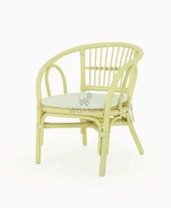 Jimmy Rattan Kids Chair Yellow