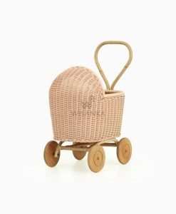 特蕾西藤娃娃婴儿车桃