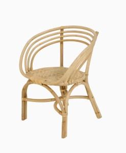 Tulip Rattan Arm Chair
