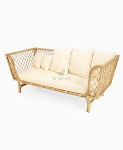 Anna Rattan Sofa Bed