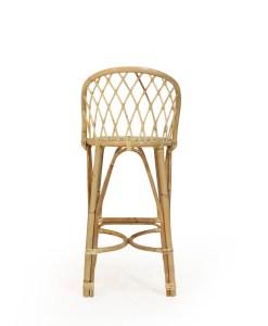 Dru Rattan Bar Chair