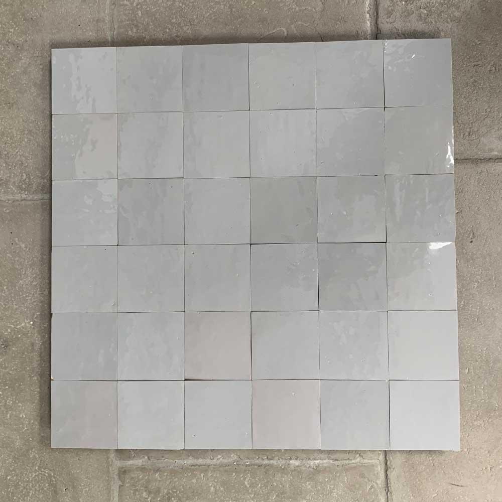 pale grey zellige tiles
