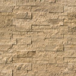 Noce Travertine Ledger Stone Panel