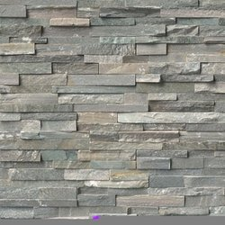 Sierra Blue Ledger Stone Panel