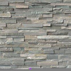 Sierra Blue Ledger Stone Panel