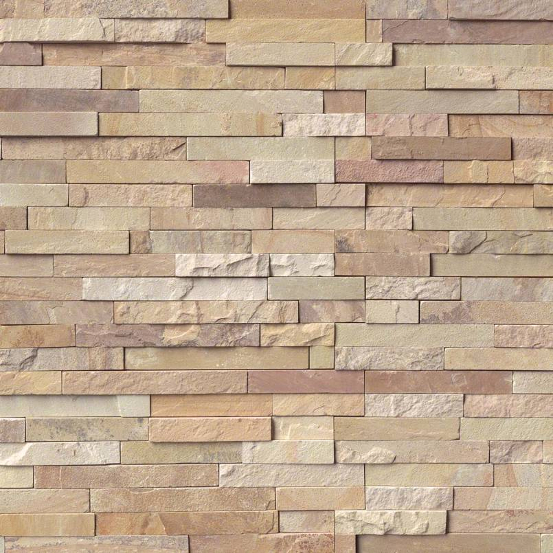 Fossil Rustic Stacked Stone Panels