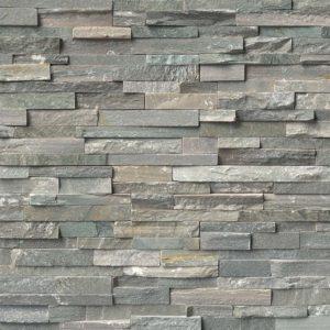 Sierra Blue Stacked Stone Ledger Panels