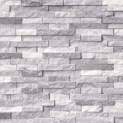 Alaska Gray Splitface Stacked Stone Ledger