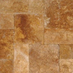 Tuscany Riviera Travertine Tumbled Pavers