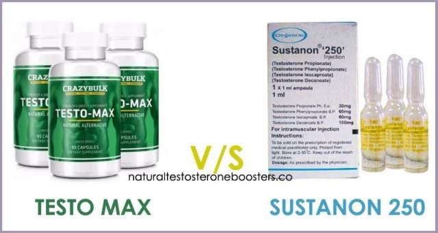 Testo Max HD or Sustanon 250 testosterone booster