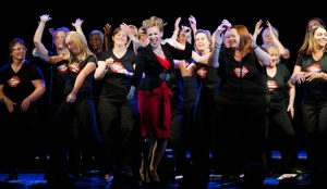 Lizzy Renihan and Natural Voices Choir