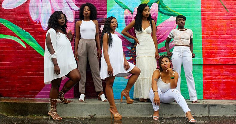 6 femmes noires magnifiques