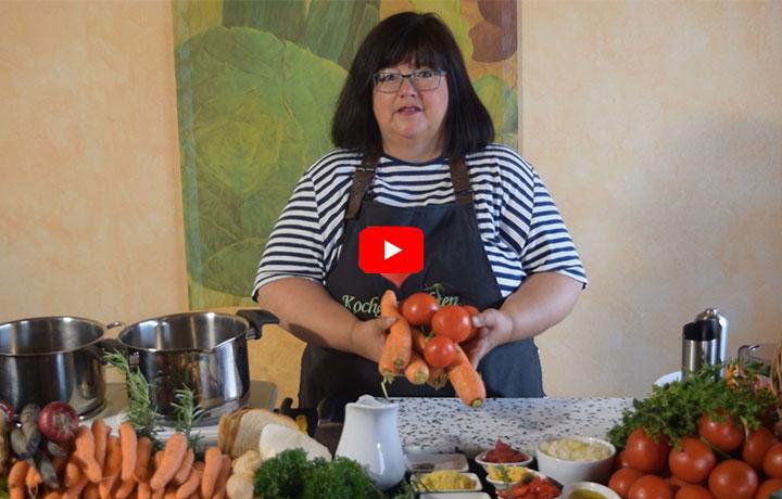 Kochvideo – Sommer-Suppenliebe