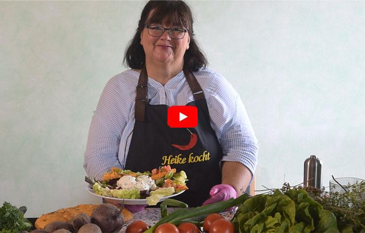 Kochvideo – Bunte Gemüseküche mit Focaccia