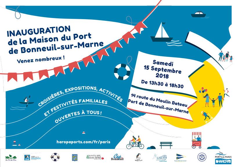 Bonneuil-sur-Marne: Inauguration de la Maison du Port