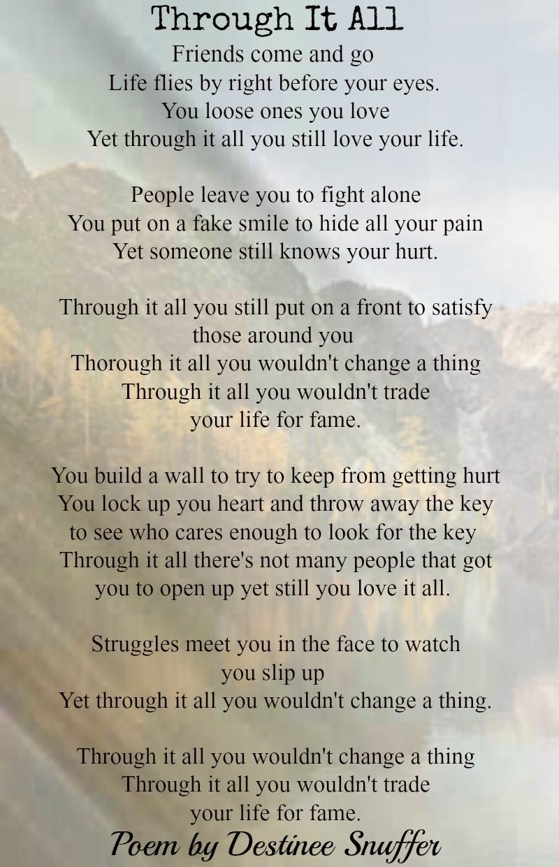 Poems Death Spiritual