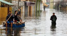 The effects of severe weather — such as these floods in Albania — take a huge human and financial toll.