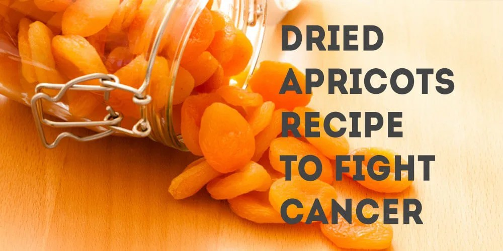 Dried Apricots Recipe to Fight Cancer
