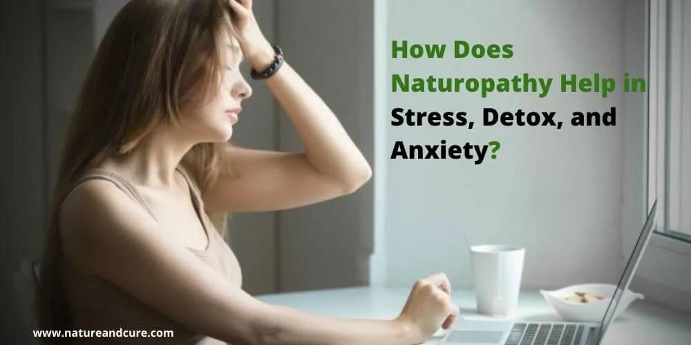 Naturopathy in Stress, Detox & Anxiety