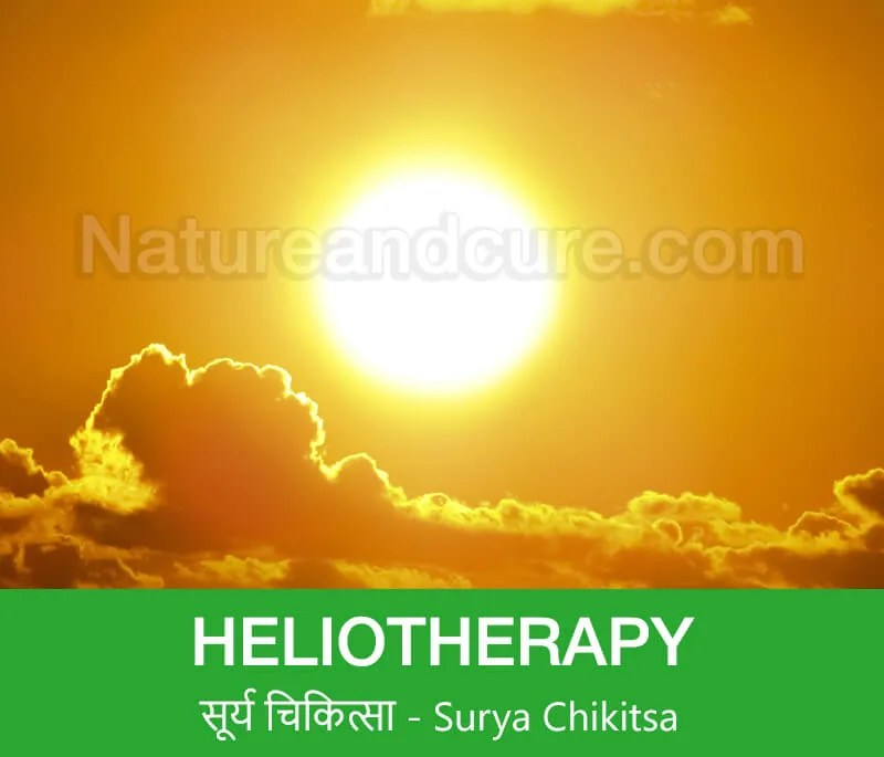 Heliotherapy - सूर्य चिकित्सा– Surya chikitsa