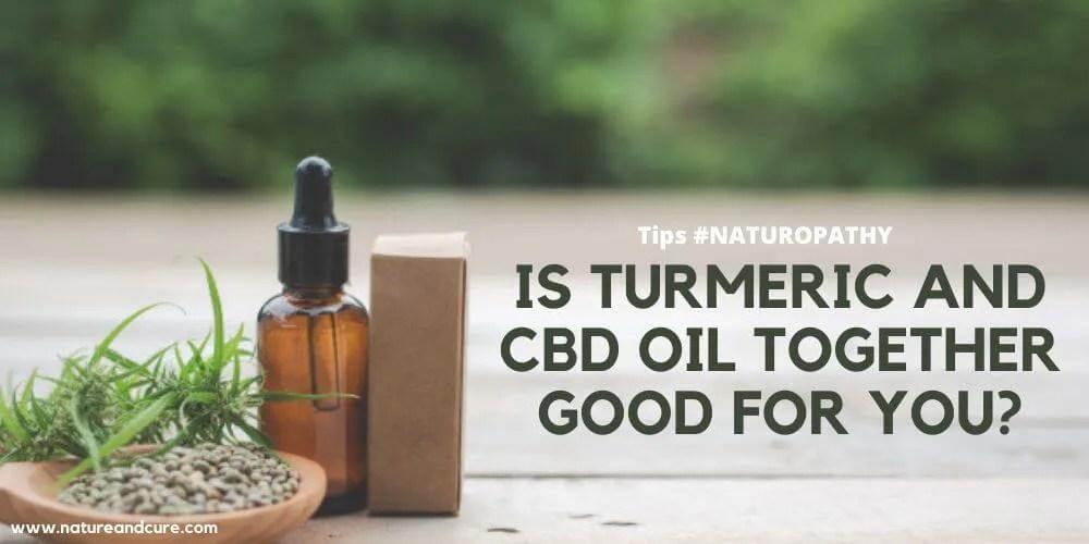 Turmeric and CBD Oil