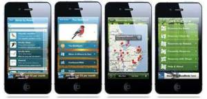 The RSPB have two apps now available via iTunes