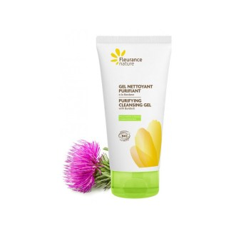 Organic Burdock Purifying Face Cleansing Gel by Fleurance Nature