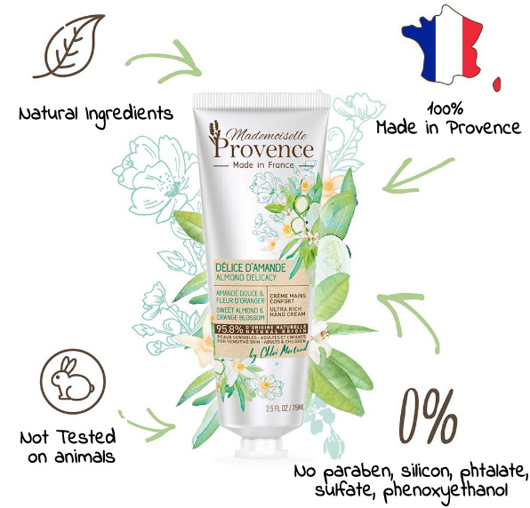 Mademoiselle Provence Skincare Made in France with Natural Ingredients