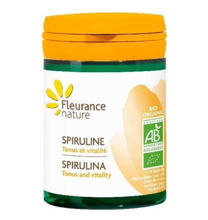 Organic Spirulina Health Supplements by Fleurance Nature