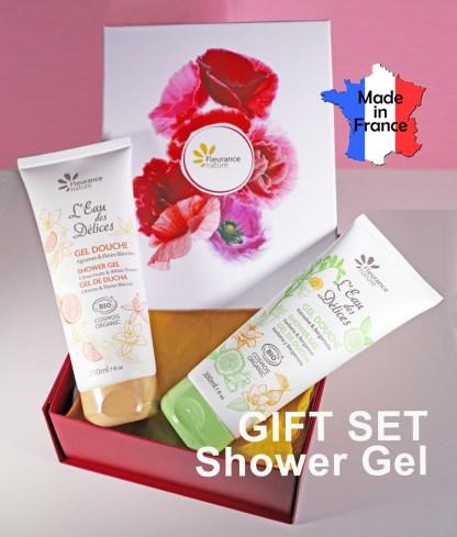 Organic Shower Gel Gift Set