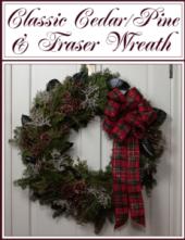 Classic Cedar/Pine/Fraser Wreath-0